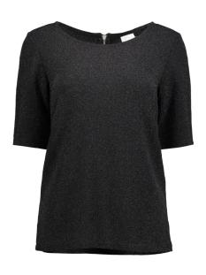Vila T-shirt VILANO T-SHIRT 14045034 Black/BLACK LURE