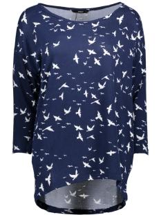 Only Trui onlELCOS 4/5 BIRDS TOP JRS 15150649 Night Sky/Cloud Danc