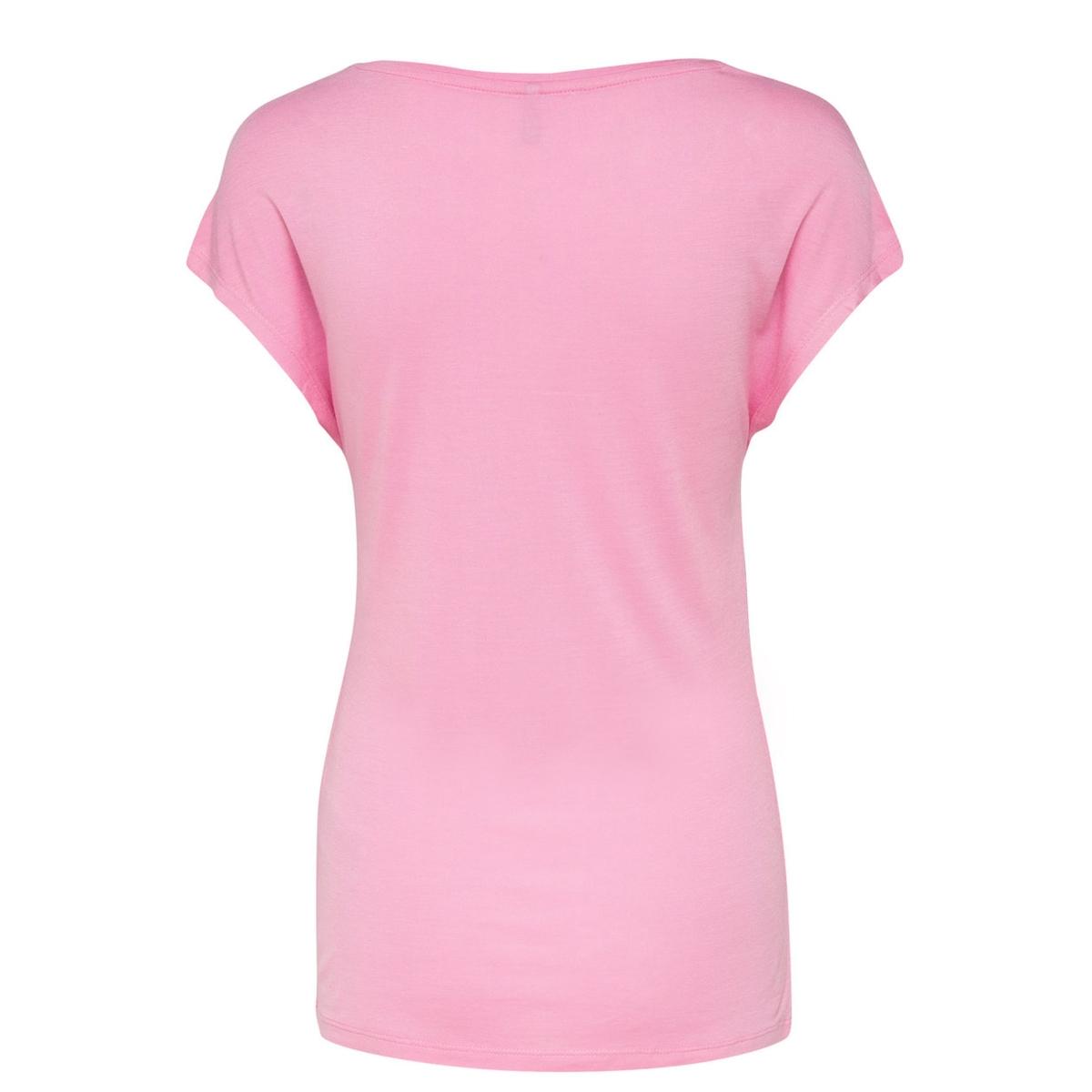onlviscose s/s fav print top box es 15149797 only t-shirt prism pink/show