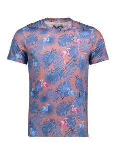 Jack & Jones T-shirt JORBOTANIQUE AOP TEE SS CREW NECK 12137048 Rose Taupe