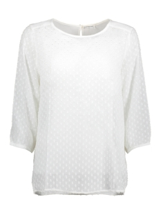 Jacqueline de Yong Blouse JDYFREAK 3/4 TOP WVN 15145096 Cloud Dancer