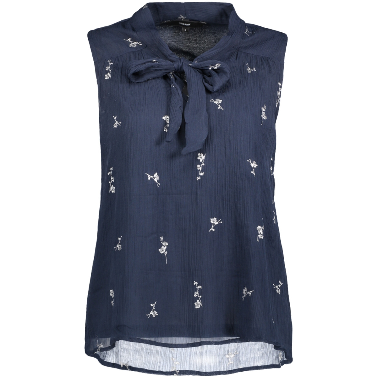 vmfiona light sl top 10188875 vero moda top navy blazer/silver pri