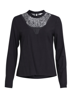 Vila Blouse VIAGNIA LACE L/S TOP/TB 14044364 Black
