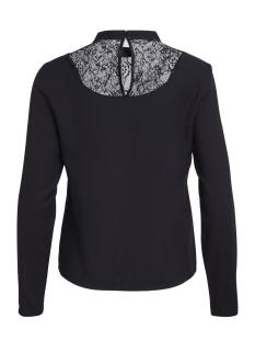 viagnia lace l/s top/tb 14044364 vila blouse black