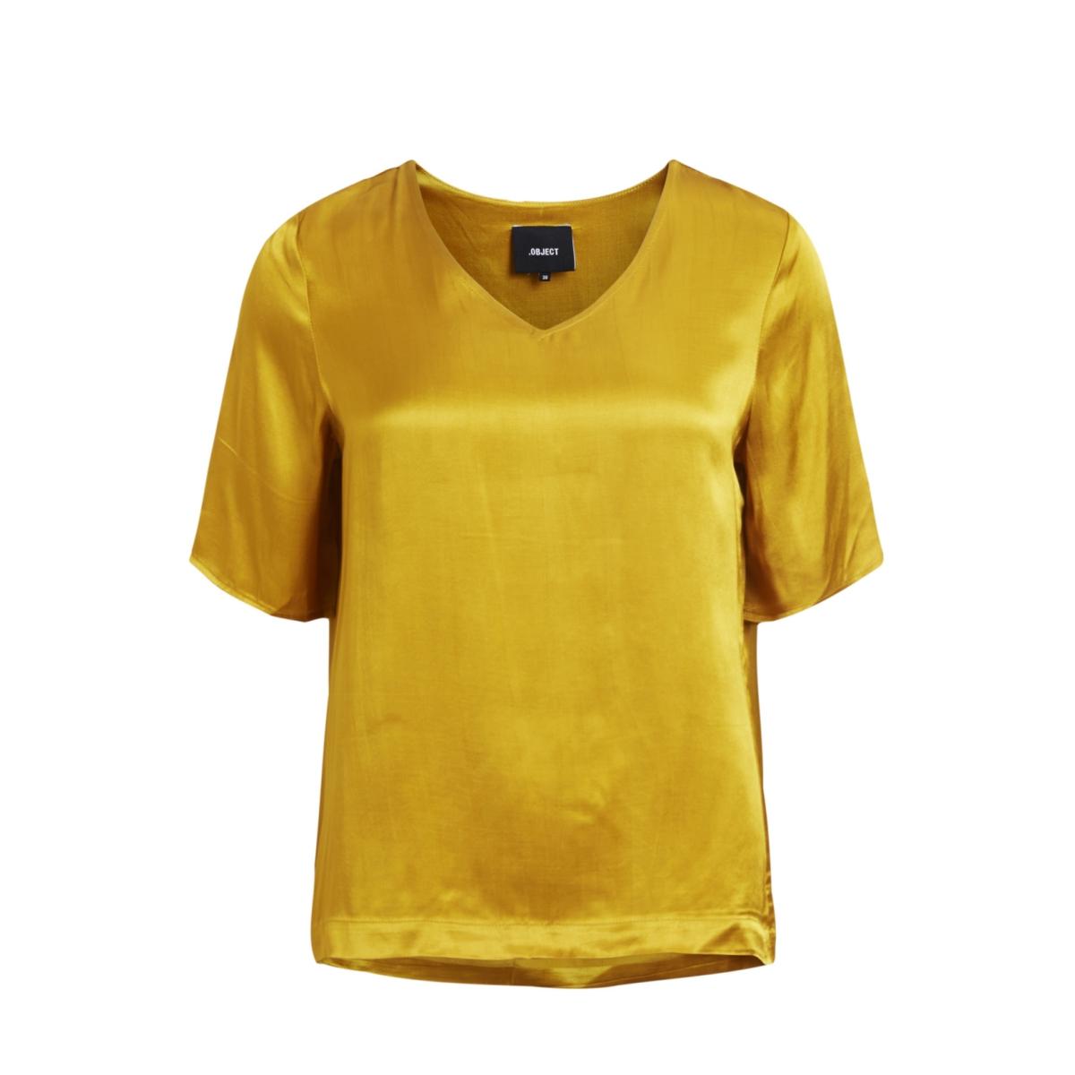 objnora 2/4 top au a 23026370 object t-shirt harvest gold