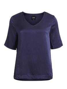 Object T-shirt OBJNORA 2/4 TOP AU A 23026370 Sky Captain