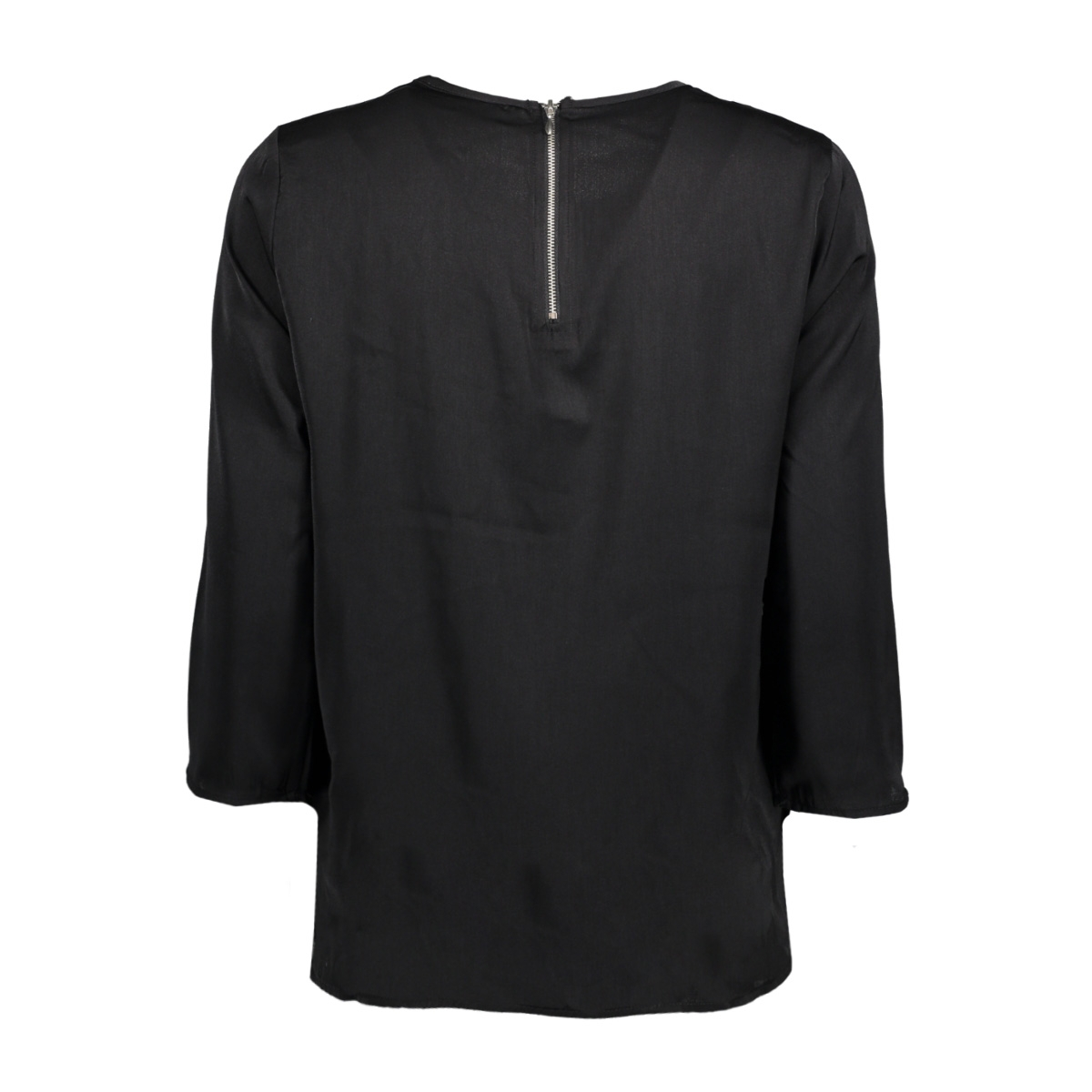 onlriga 3/4 sleeve top solid wvn 15144912 only blouse black
