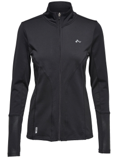 Only Play Vest onpRUEL RUN BRUSHED LS ZIP 15136458 Black