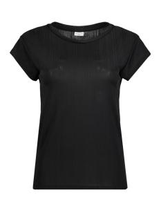 Jacqueline de Yong T-shirt JDYCHILI S/S TOP JRS RPT1 15138635 Black