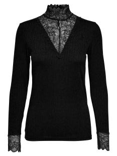 Jacqueline de Yong T-shirt JDYRINE L/S HIGHNECK TOP JRS 15147493 Black