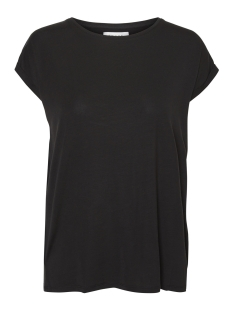Vero Moda T-shirt VMAVA PLAIN SS TOP GA NOOS 10187159 Black