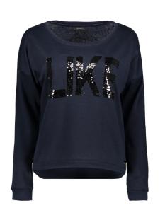 Vero Moda Sweater VMDIDDE LS CAMPUS SWEAT SWT 10186494 Navy Blazer