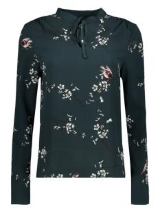 Vero Moda T-shirt VMCELIA LS TOP 10188767 Green Gables/ Celia