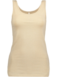 Only Top onlLIVE LOVE GLIMMER TANK TOP NOOS 15101819 Frosted Almond