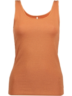 Only Top onlLIVE LOVE GLIMMER TANK TOP NOOS 15101819 Copper