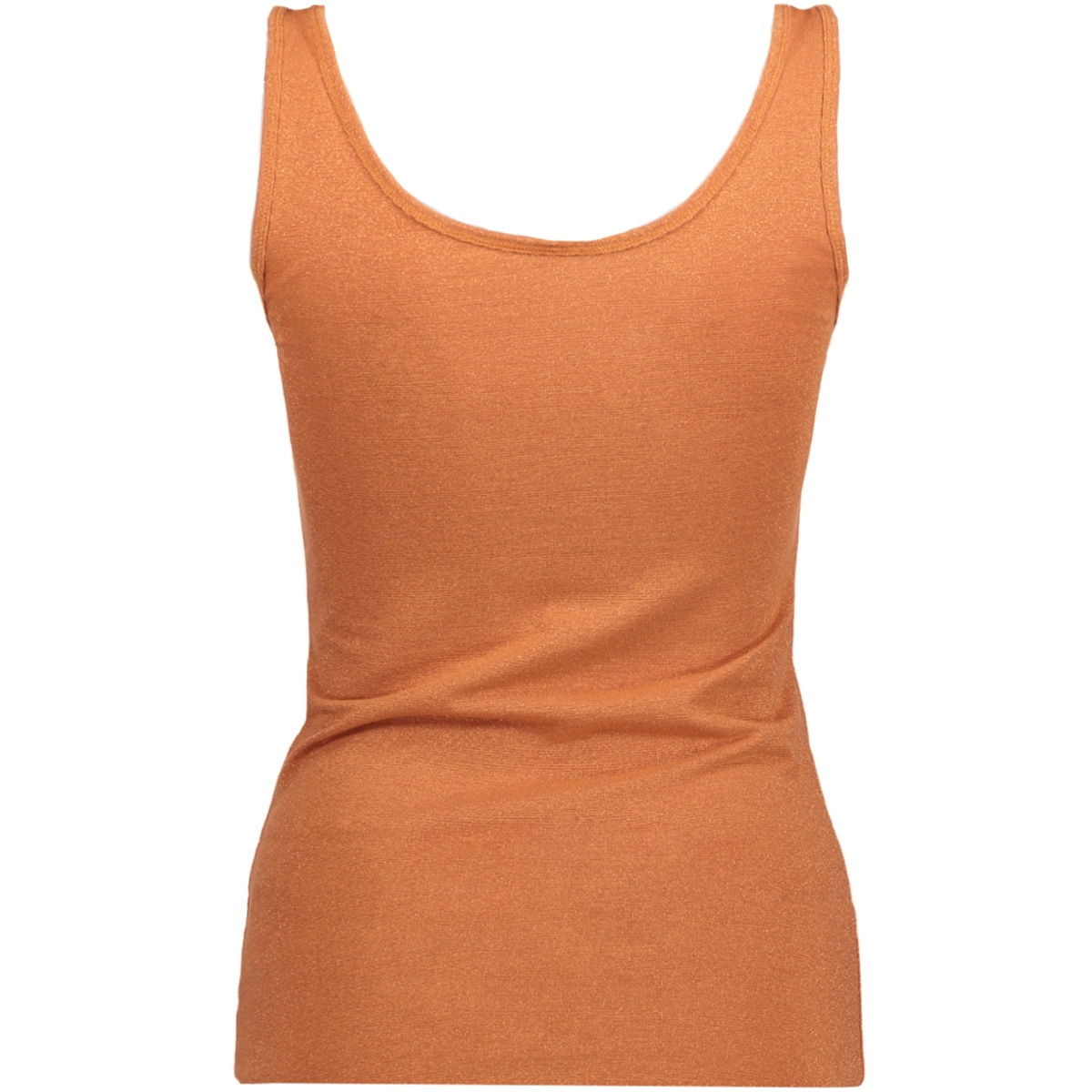 onllive love glimmer tank top noos 15101819 only top copper