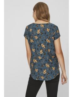 vmmixy foil s/s top exp 10198663 vero moda t-shirt reflecting pond/ flowers