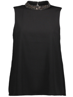 Only Top onyLIN EMB TANK TOP WVN 15147850 Black