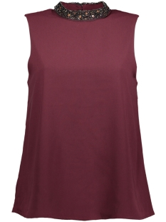 Only Top onyLIN EMB TANK TOP WVN 15147850 Port Royale