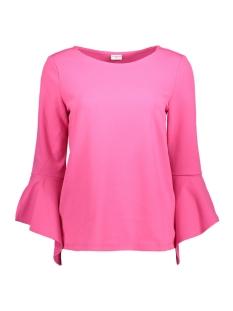 Jacqueline de Yong T-shirt JDYBERNADETTE BELL  SLEEVE TOP JRS 15150728 Fuchsia Purple