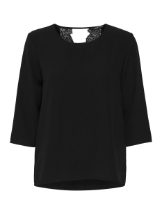 Only Blouse onyLIN AYA LACE 3/4 TOP WVN 15147846 Black