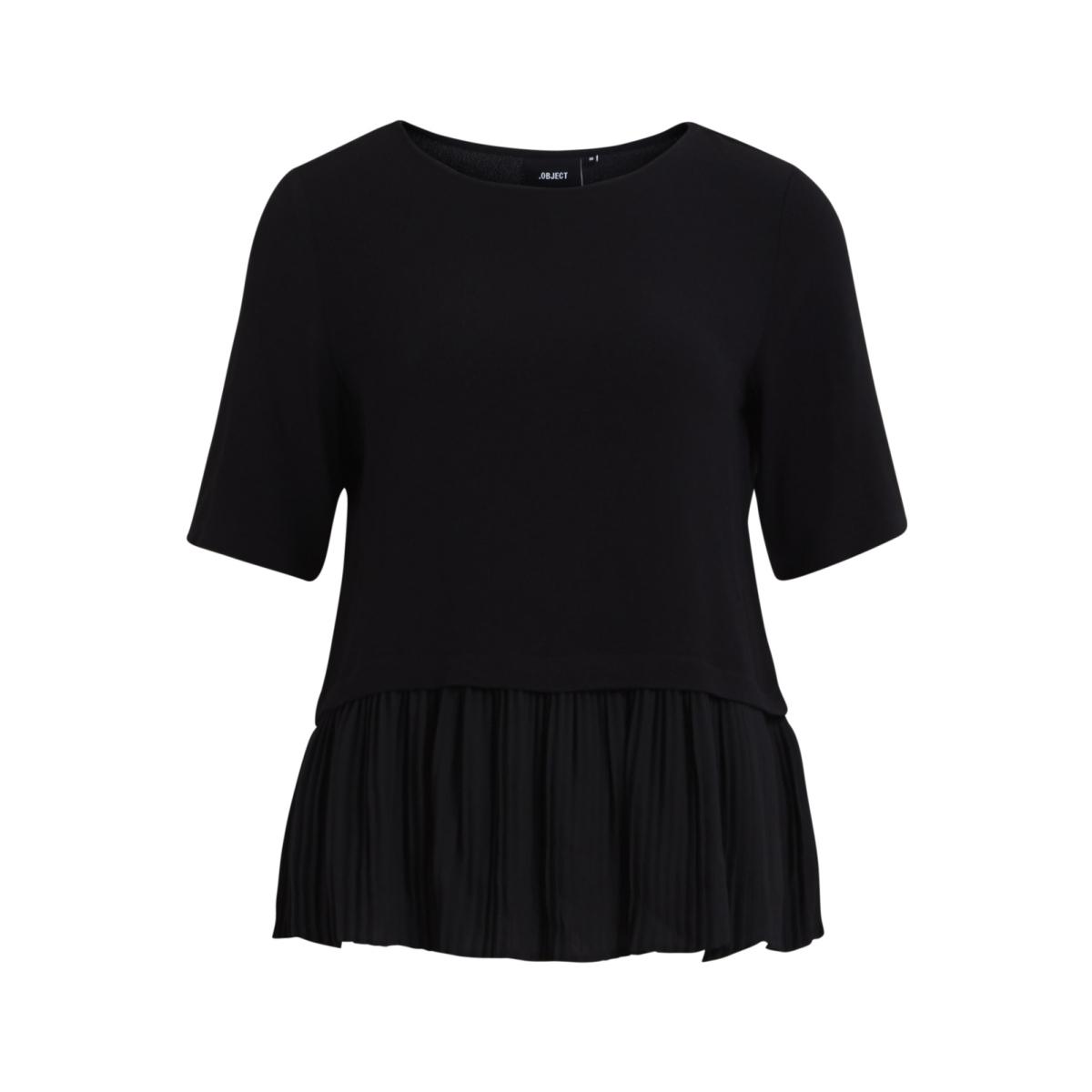 objsofy 3/4 top 93 23025176 object blouse black