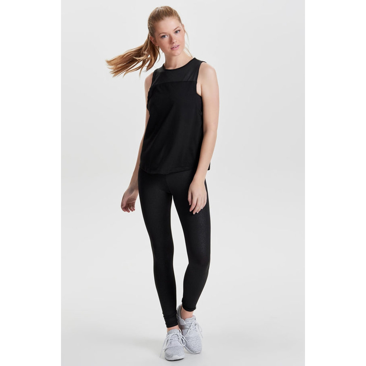 onpanimal shine sl top 15135563 only play sport top black