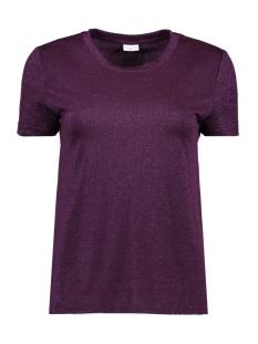 Jacqueline de Yong T-shirt JDYINK S/S TOPJRS 15142542 Potent Purple