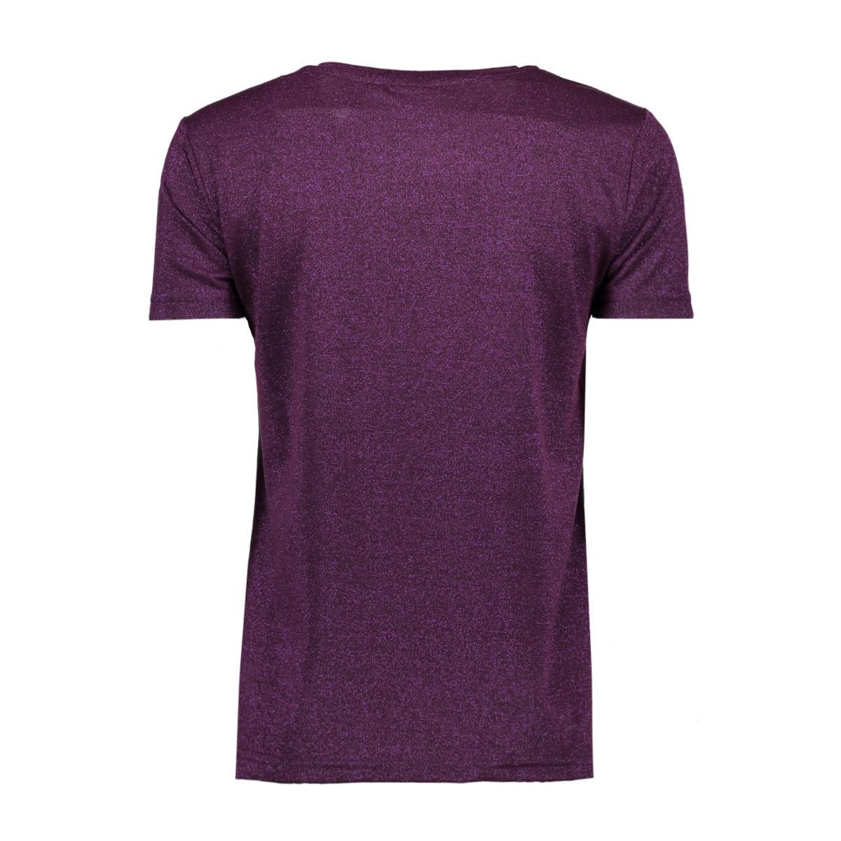 jdyink s/s topjrs 15142542 jacqueline de yong t-shirt potent purple