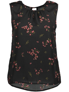 Vero Moda Top VMPARISAN S/L TOP D2-8 10189801 Black/Flora Prin