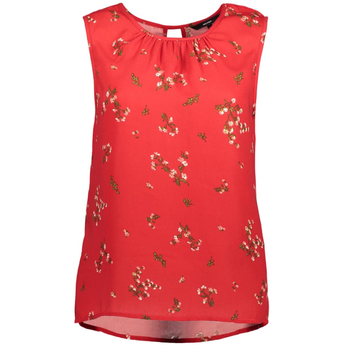 vmparisan s/l top d2-8 10189801 vero moda top lychee/flora prin