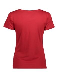 jdychicago s/s xmas print top jrs 15139962 jacqueline de yong t-shirt scarlet sage/x