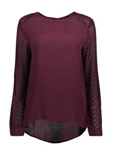 objzoe l/s top .i 94 23025590 object blouse winetasting