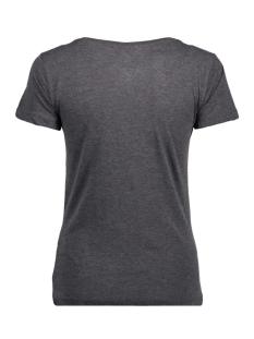 jdychicagos 7 s/s print top 11 jrs 15141657 jacqueline de yong t-shirt dark grey melange