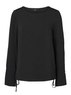 Vero Moda T-shirt VMJULIE L/S TIE TOP A 10188193 Black