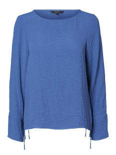 Vero Moda Blouse VMJULIE L/S TIE TOP A 10188193 True Navy