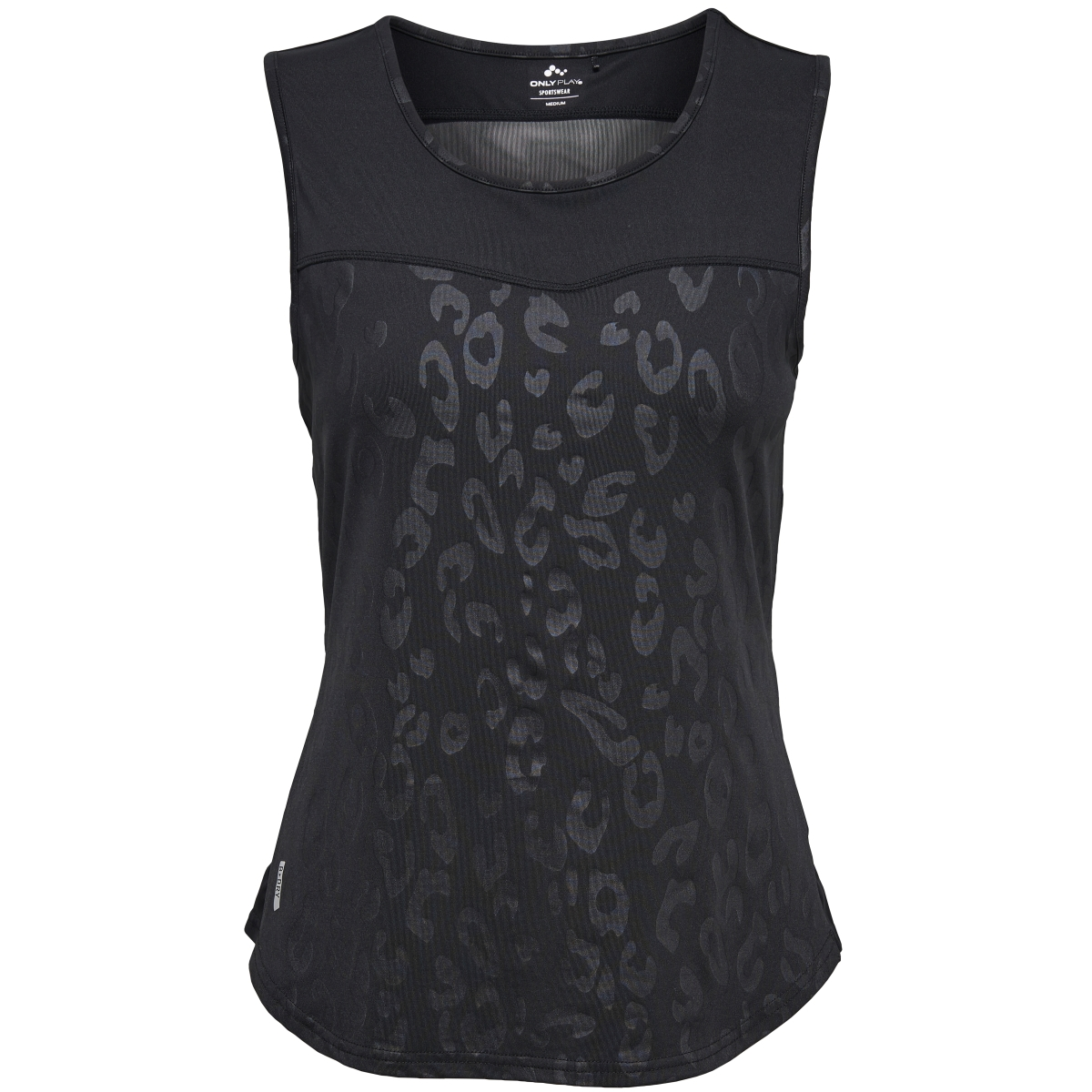 onpsheila aop sl training top 15135553 only play sport top black