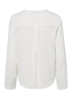 vmsachi 3/4 top a 10188108 vero moda blouse snow white
