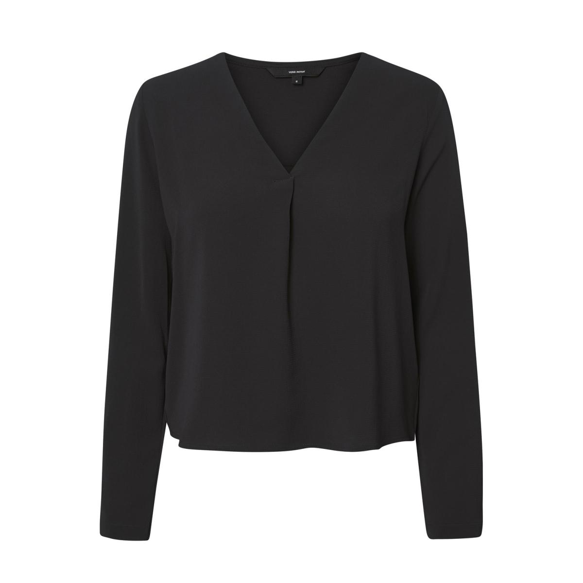 vmsachi 3/4 top a 10188108 vero moda blouse black