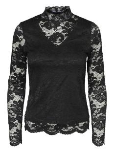 Vero Moda T-shirt VMJOY L/S HIGHNECK  TOP BOO 10188185 Black
