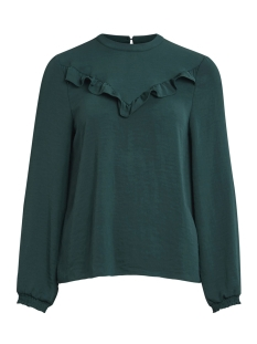 Vila Blouse VIANNALISE L/S TOP 14043945 Pine Grove