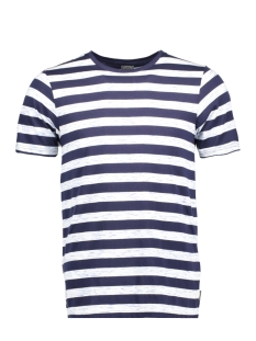 Jack & Jones T-shirt JORCINNEMA TEE SS CREW NECK 12124523 Total Eclipse/Slim Fit W