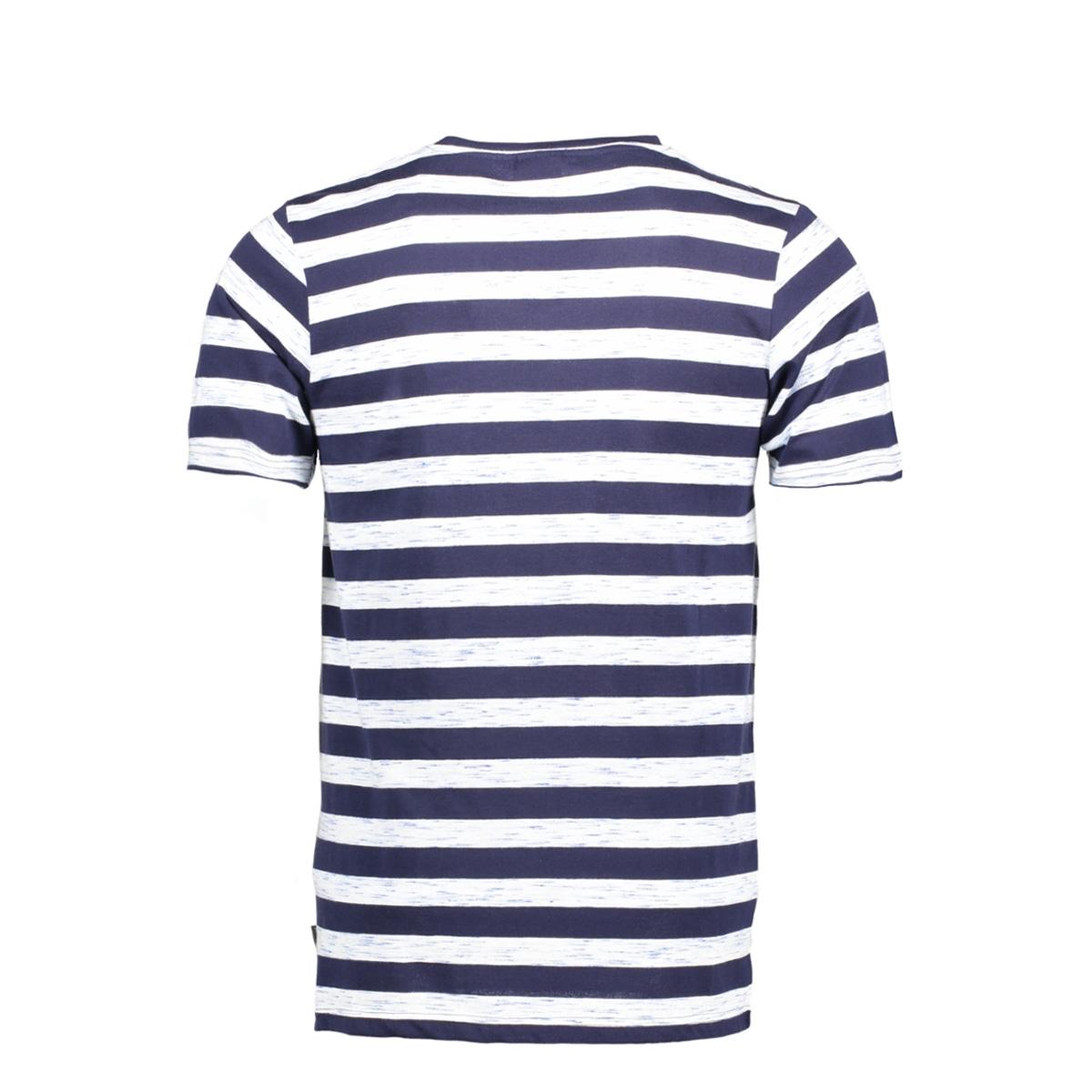 jorcinnema tee ss crew neck 12124523 jack & jones t-shirt total eclipse/slim fit w