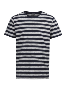 Jack & Jones T-shirt JORCINNEMA TEE SS CREW NECK 12124523 Total Eclipse/Slim Fit L