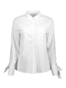 Jacqueline de Yong Blouse JDYTAYLOR L/S TIE SHIRT WVN 15151152 White