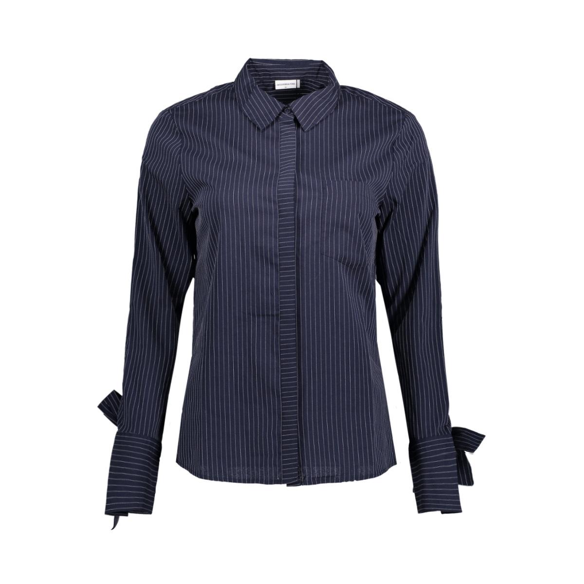 jdytaylor l/s tie shirt wvn 15151152 jacqueline de yong blouse sky captain
