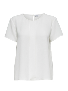 Jacqueline de Yong T-shirt JDYREPUBLIC S/S TOP WVN 15143324 Cloud Dancer