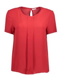 Jacqueline de Yong T-shirt JDYREPUBLIC S/S TOP WVN 15143324 Scarlet Sage