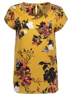 Only T-shirt onlRIGA S/S TOP AOP WVN 15144901 Chai Tea/COSY BOTAN