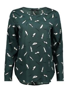 Vero Moda T-shirt VMCAMILLA 3/4 BLOUSE 10190500 Green Gables/CAMILLA PR